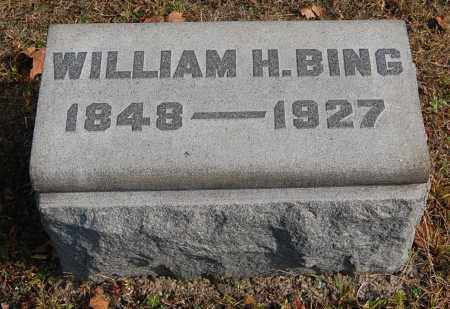 BING, WILLIAM HUBBARD - Gallia County, Ohio | WILLIAM HUBBARD BING - Ohio Gravestone Photos