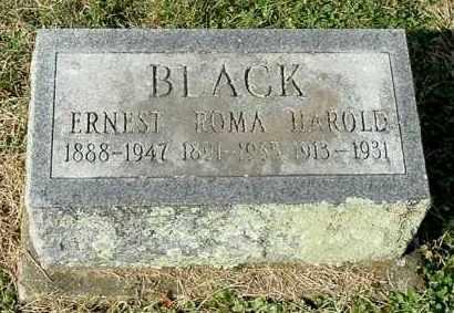 BRECHTEL BLACK, ROMA - Gallia County, Ohio | ROMA BRECHTEL BLACK - Ohio Gravestone Photos