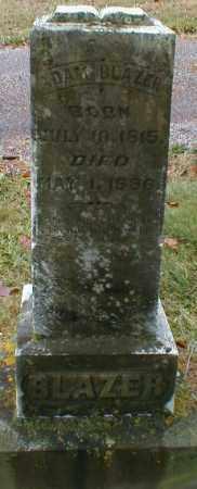BLAZER, ADAM - Gallia County, Ohio   ADAM BLAZER - Ohio Gravestone Photos