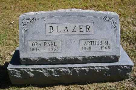 BLAZER, ORA - Gallia County, Ohio | ORA BLAZER - Ohio Gravestone Photos