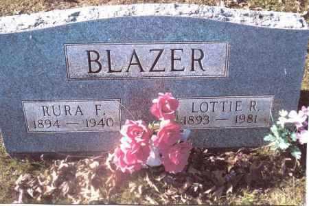 BLAZER, LOTTIE R - Gallia County, Ohio | LOTTIE R BLAZER - Ohio Gravestone Photos