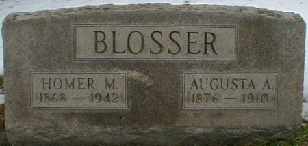 BLOSSER, AUGUSTA - Gallia County, Ohio | AUGUSTA BLOSSER - Ohio Gravestone Photos