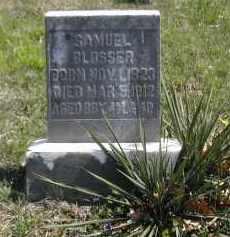 BLOSSER, SAMUEL - Gallia County, Ohio | SAMUEL BLOSSER - Ohio Gravestone Photos