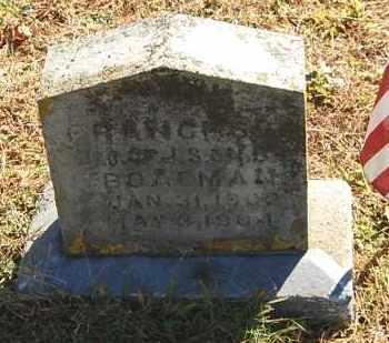 BOATMAN, FRANCES - Gallia County, Ohio | FRANCES BOATMAN - Ohio Gravestone Photos