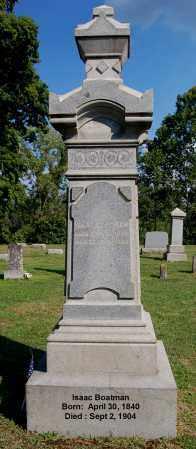 BOATMAN, ISAAC - Gallia County, Ohio | ISAAC BOATMAN - Ohio Gravestone Photos