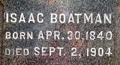 "BOATMAN, ISAAC ""CLOSE-UP"" - Gallia County, Ohio | ISAAC ""CLOSE-UP"" BOATMAN - Ohio Gravestone Photos"
