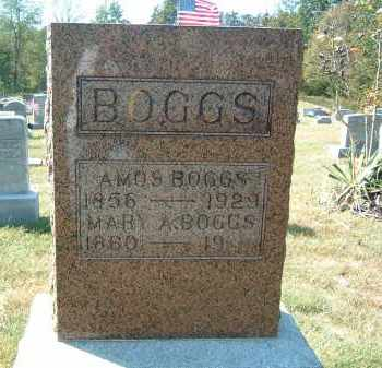 BOGGS, AMOS - Gallia County, Ohio | AMOS BOGGS - Ohio Gravestone Photos