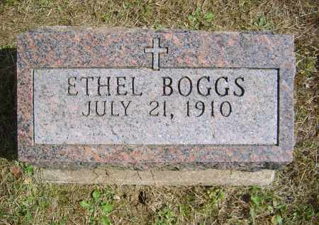 BOGGS,, ETHEL - Gallia County, Ohio | ETHEL BOGGS, - Ohio Gravestone Photos