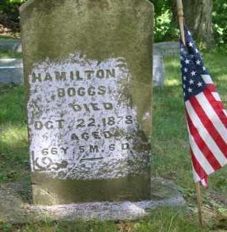 BOGGS, HAMILTON - Gallia County, Ohio   HAMILTON BOGGS - Ohio Gravestone Photos