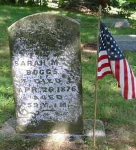 BOGGS, SARAH M. - Gallia County, Ohio | SARAH M. BOGGS - Ohio Gravestone Photos