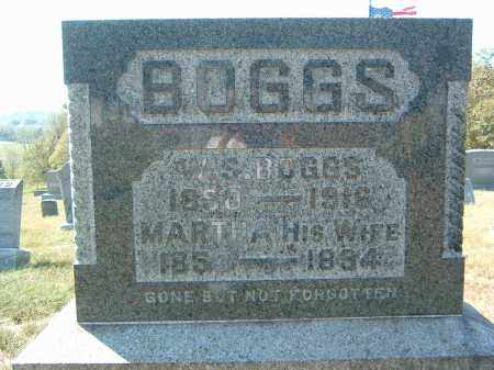 BOGGS, W. S. - Gallia County, Ohio | W. S. BOGGS - Ohio Gravestone Photos