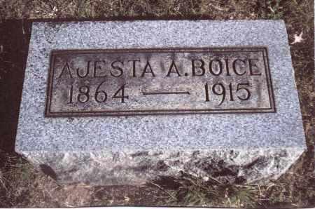 BOICE, AJESTA A. - Gallia County, Ohio | AJESTA A. BOICE - Ohio Gravestone Photos