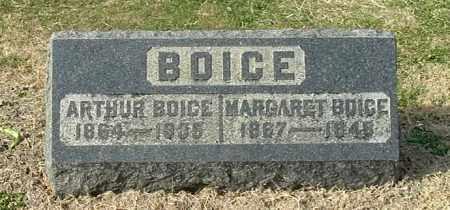 BOICE, MARGARET - Gallia County, Ohio | MARGARET BOICE - Ohio Gravestone Photos