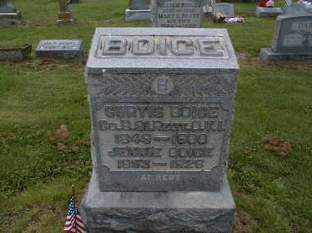 BOICE, JENNIE - Gallia County, Ohio | JENNIE BOICE - Ohio Gravestone Photos