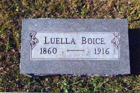 BOICE, LUELLA - Gallia County, Ohio | LUELLA BOICE - Ohio Gravestone Photos