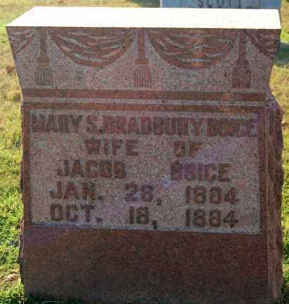 BOICE, MARY S. - Gallia County, Ohio | MARY S. BOICE - Ohio Gravestone Photos