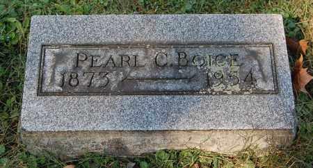 BOICE, PEARL C - Gallia County, Ohio   PEARL C BOICE - Ohio Gravestone Photos