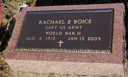 BOICE, RACHAEL E - Gallia County, Ohio   RACHAEL E BOICE - Ohio Gravestone Photos