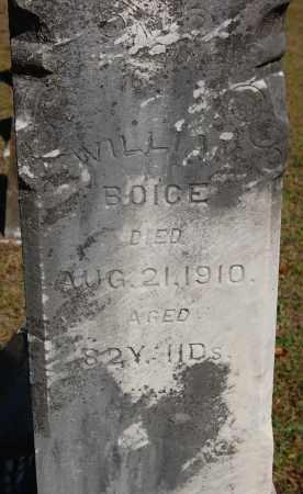 BOICE, WILLIAM - Gallia County, Ohio   WILLIAM BOICE - Ohio Gravestone Photos