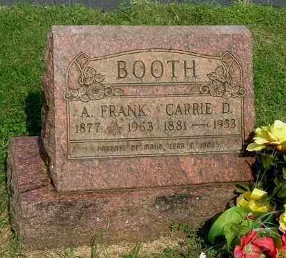 BOOTH, A FRANK - Gallia County, Ohio | A FRANK BOOTH - Ohio Gravestone Photos