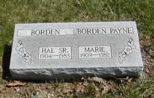 BORDEN PAYNE, MARIE - Gallia County, Ohio | MARIE BORDEN PAYNE - Ohio Gravestone Photos