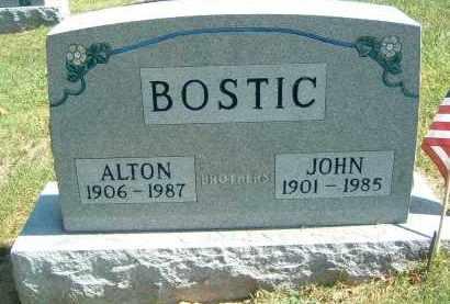 BOSTIC, ALTON - Gallia County, Ohio   ALTON BOSTIC - Ohio Gravestone Photos