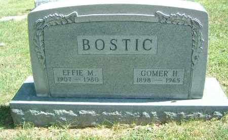 BOSTIC, GOMER H. - Gallia County, Ohio | GOMER H. BOSTIC - Ohio Gravestone Photos