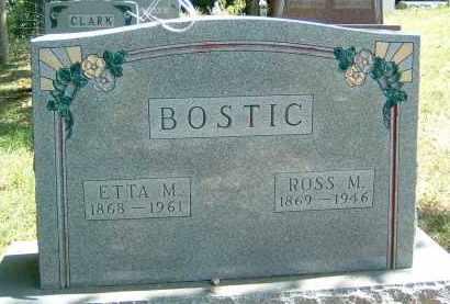 BOSTIC, ROSS M. - Gallia County, Ohio | ROSS M. BOSTIC - Ohio Gravestone Photos