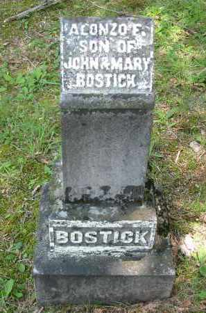 BOSTICK, ALONZO F. - Gallia County, Ohio | ALONZO F. BOSTICK - Ohio Gravestone Photos