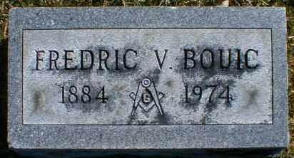 BOUIC, FREDRIC - Gallia County, Ohio | FREDRIC BOUIC - Ohio Gravestone Photos