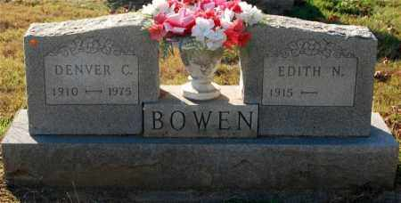 BOWEN, EDITH N. - Gallia County, Ohio | EDITH N. BOWEN - Ohio Gravestone Photos