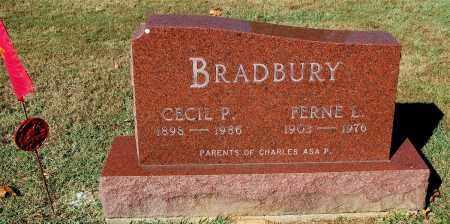 BRADBURY, FERNE L. - Gallia County, Ohio   FERNE L. BRADBURY - Ohio Gravestone Photos