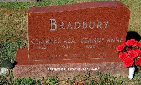 BRADBURY, JEANNE ANNE - Gallia County, Ohio | JEANNE ANNE BRADBURY - Ohio Gravestone Photos