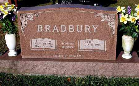 BRADBURY, ETHEL L. - Gallia County, Ohio | ETHEL L. BRADBURY - Ohio Gravestone Photos