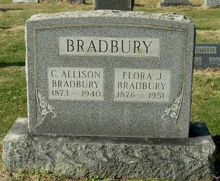 BRADBURY, CLYDE ALLISON - Gallia County, Ohio | CLYDE ALLISON BRADBURY - Ohio Gravestone Photos