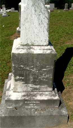 STRONG BRADBURY, ELIZA - Gallia County, Ohio | ELIZA STRONG BRADBURY - Ohio Gravestone Photos