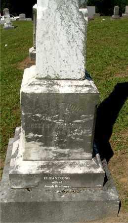 BRADBURY, ELIZA - Gallia County, Ohio | ELIZA BRADBURY - Ohio Gravestone Photos