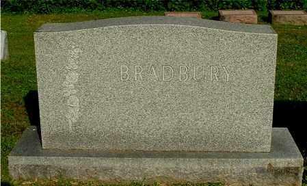 BRADBURY, FAMILY MONUMENT - Gallia County, Ohio | FAMILY MONUMENT BRADBURY - Ohio Gravestone Photos