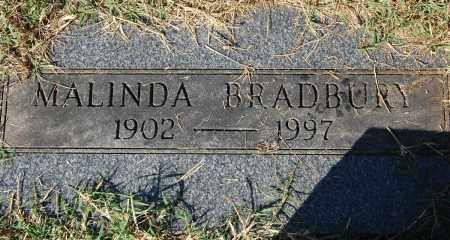 BRADBURY, MALINDA - Gallia County, Ohio | MALINDA BRADBURY - Ohio Gravestone Photos