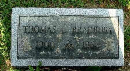 BRADBURY, THOMAS L - Gallia County, Ohio | THOMAS L BRADBURY - Ohio Gravestone Photos