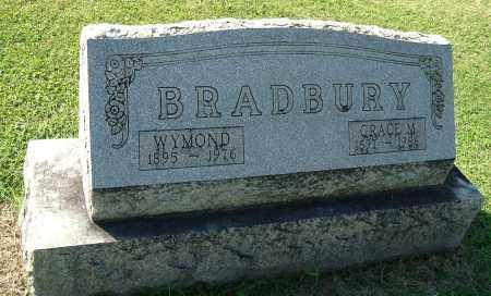 BRADBURY, GRACE M - Gallia County, Ohio | GRACE M BRADBURY - Ohio Gravestone Photos