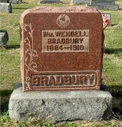 BRADBURY, WILLIAM WENDELL - Gallia County, Ohio | WILLIAM WENDELL BRADBURY - Ohio Gravestone Photos