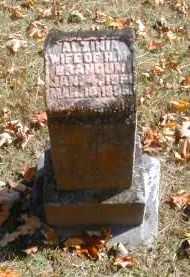 BRANDUM, ALZINIA - Gallia County, Ohio | ALZINIA BRANDUM - Ohio Gravestone Photos