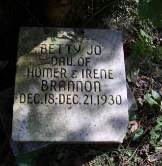 BRANNON, BETTY - Gallia County, Ohio   BETTY BRANNON - Ohio Gravestone Photos