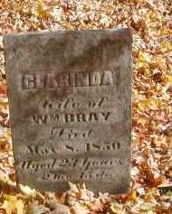 BRAY, CLARINDA - Gallia County, Ohio   CLARINDA BRAY - Ohio Gravestone Photos