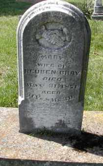 BRAY, MARY - Gallia County, Ohio | MARY BRAY - Ohio Gravestone Photos