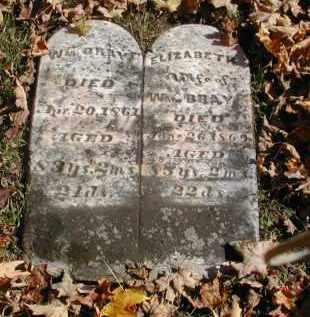 BRAY, WILLIAM - Gallia County, Ohio | WILLIAM BRAY - Ohio Gravestone Photos