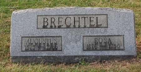 BRECHTEL, AUGUSTUS - Gallia County, Ohio | AUGUSTUS BRECHTEL - Ohio Gravestone Photos