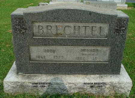 BRECHTEL, NEVADA - Gallia County, Ohio | NEVADA BRECHTEL - Ohio Gravestone Photos