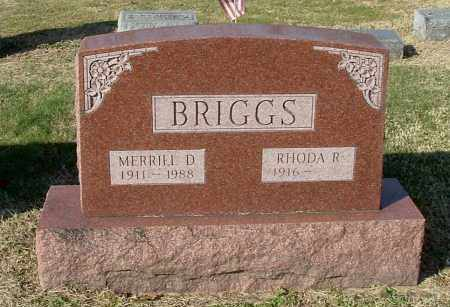 BRIGGS, RHODA R - Gallia County, Ohio | RHODA R BRIGGS - Ohio Gravestone Photos